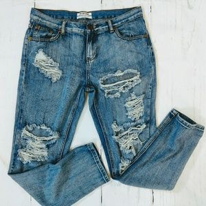 One X One Teaspoon Awesome Baggies Jeans. Size 28